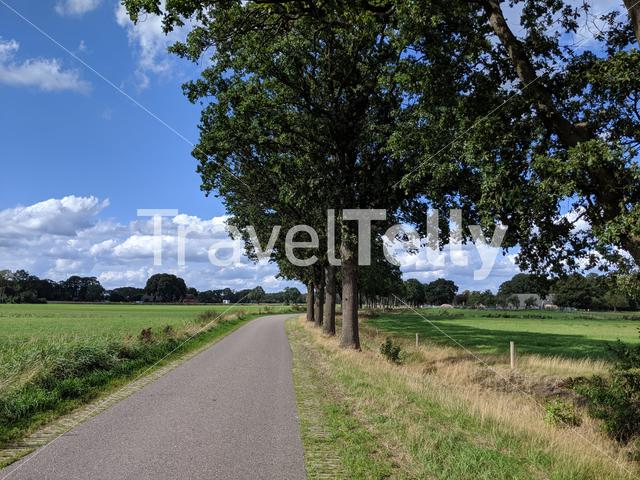 Road around Gramsbergen, The Netherlands