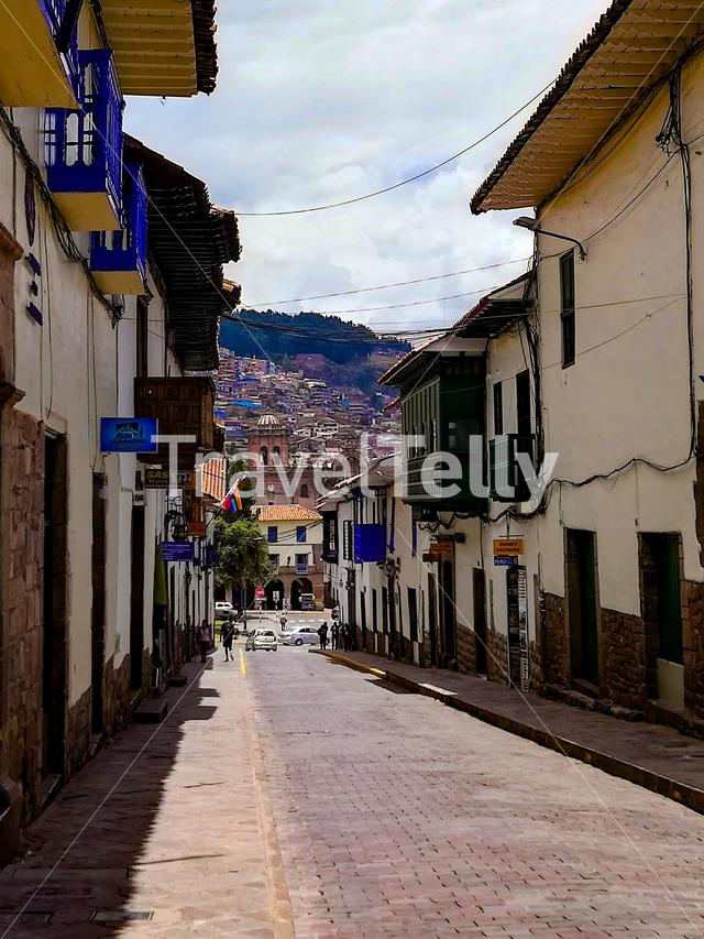 Streets of Cusco on a Sunny day