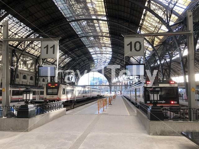 Barcelona França railway station in Spain