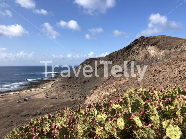 The coast of La Isleta, Gran Canaria