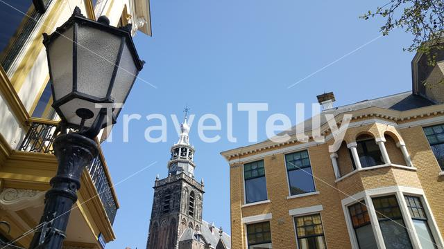 Town Hall on Market Square in Gouda city, Netherlands