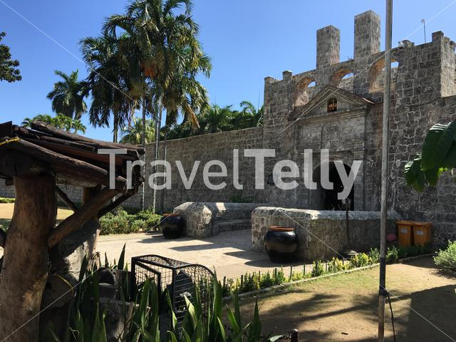Entrance from Fort San Pedro in Cebu the Philippines