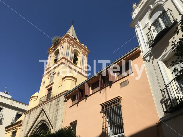 The Iglesia de San Isidoro church in Seville Spain