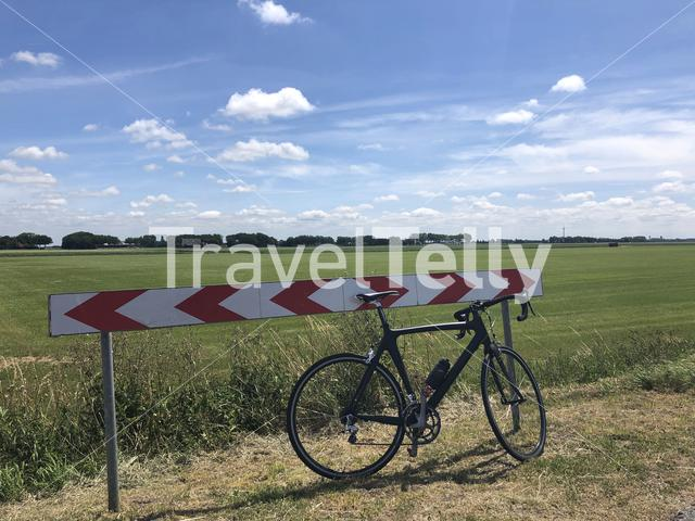 Cycling in Friesland The Netherlands