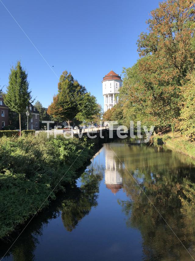 The Water tower in Emden, Germany