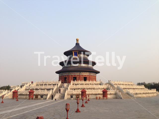 The Temple of Heaven,(Altar of Heaven), is a complex of religious buildings situated in the southeastern part of central Beijing, China