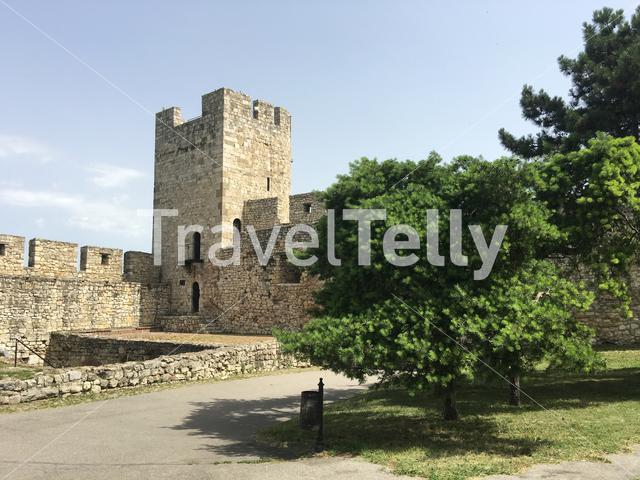 Tower from the Belgrade Fortress in Belgrade Serbia