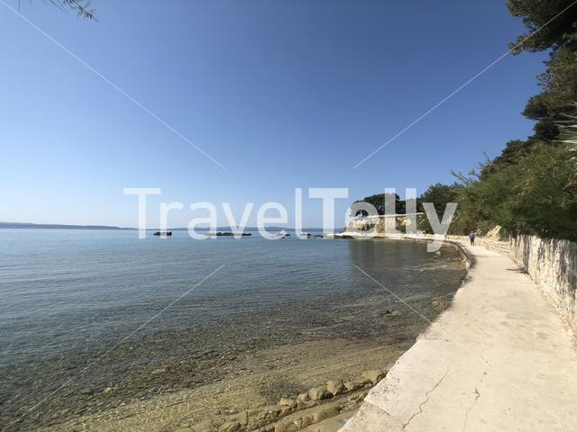 Firule beach in Split Croatia
