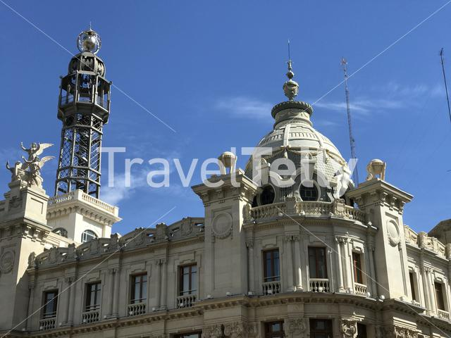 Federal Union of Posts and Telecommunications building in Valencia Spain