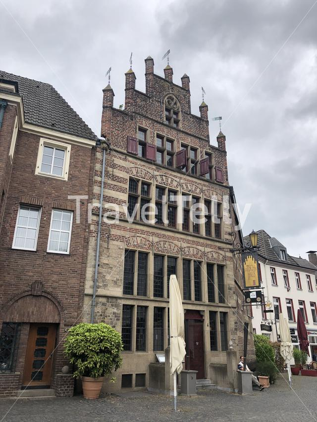 Architecture in the city Xanten, Germany