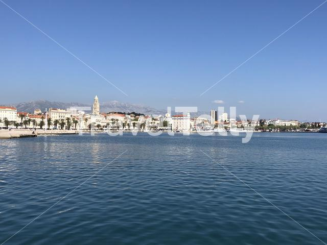 Skyline of Split, Croatia