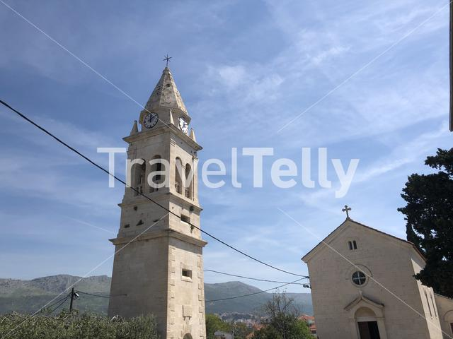 Parish Church of St. Lawrence in Stobreč Croatia