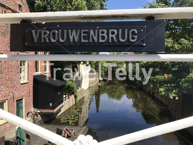 Vrouwenbrug in Appingedam The Netherlands