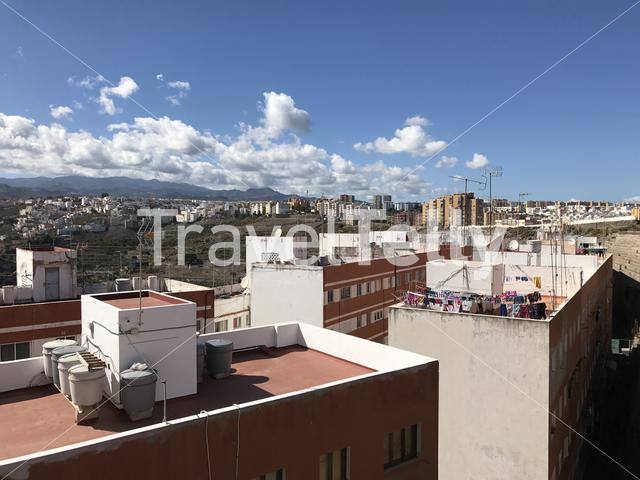 Urban housing in Las Palmas Gran Canaria