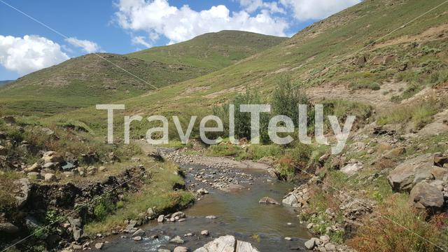 River in Lesotho Africa