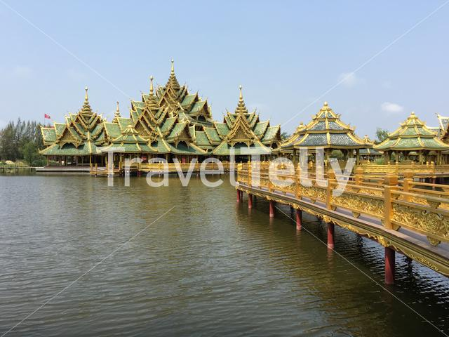 Pavilion of the Enlightened In Ancient Siam Bangkok Thailand