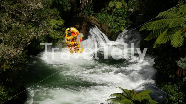 Rafting in Rotorua in New Zealand