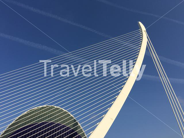Àgora And the Assut de l'Or Bridge at the City of Arts and Sciences in Valencia Spain