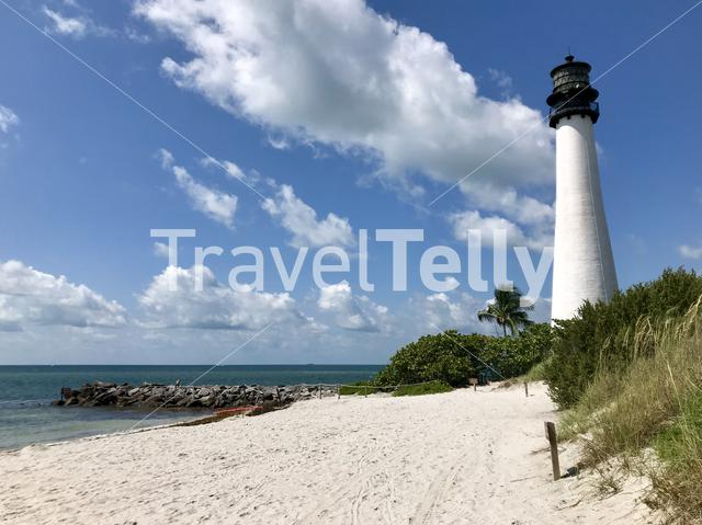 Cape Florida Lighthouse in the United States of America