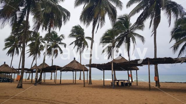 Beach at Lome in Togo