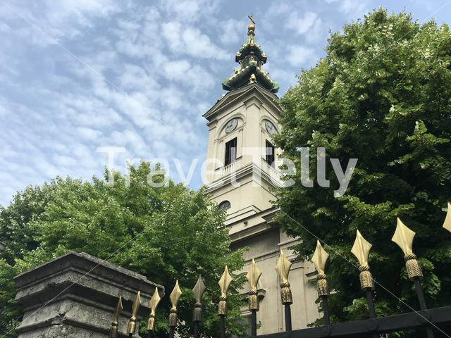 St. Michael's Cathedral in Belgrade Serbia