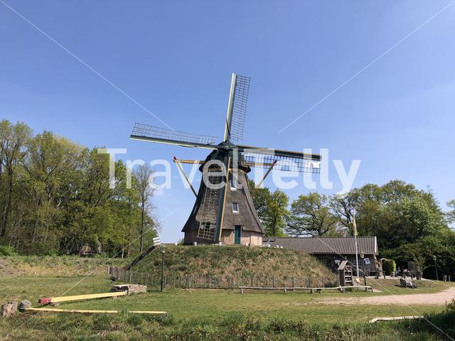 Windmill in Ommen, The Netherlands