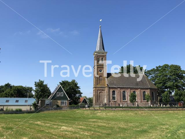 Sint Joriskerk in Dedgum, Friesland The Netherlands