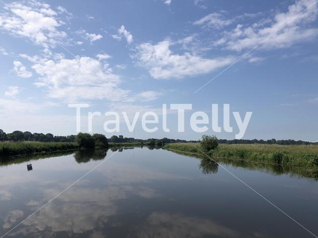 The river Vecht in Overijssel, The Netherlands