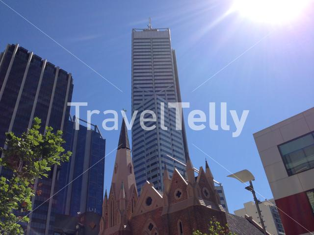 Wesley Church downtown Perth, Western Australia
