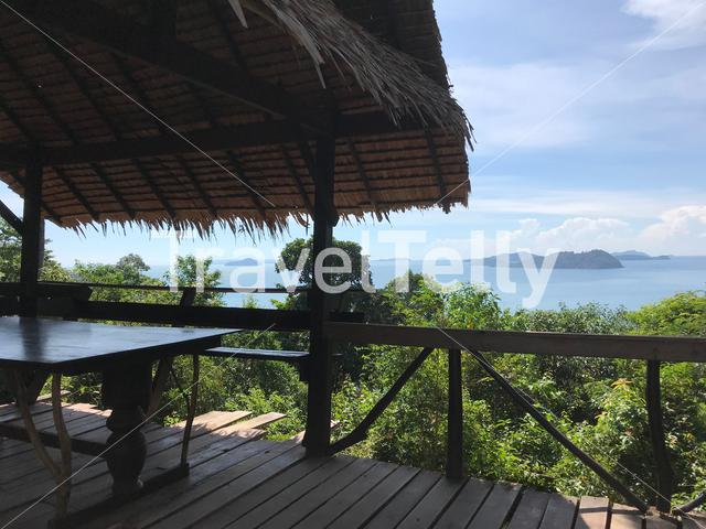 Relax place with beautiful view in Koh Chang Thailand