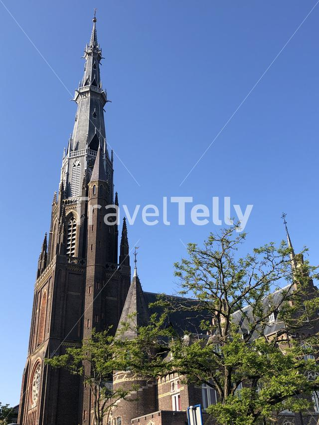 Saint Boniface church in Leeuwarden, Friesland The Netherlands