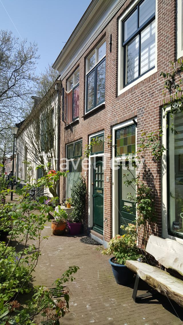 Dutch architecture in City of Gouda, The Netherlands
