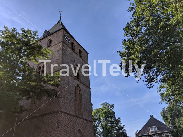 Church in Den Ham, Overijssel, The Netherlands