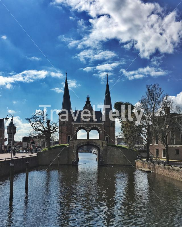 The famous Waterpoort in Sneek