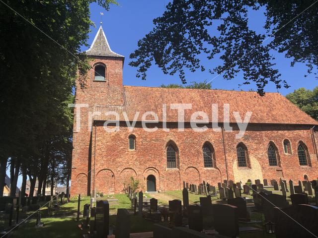Church in Westergeest, Friesland, The Netherlands