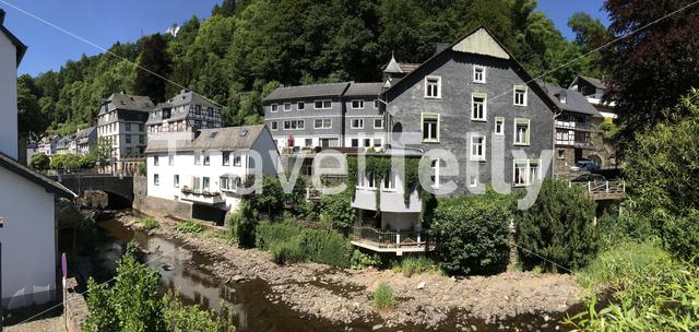 Panorama from Monschau Germany