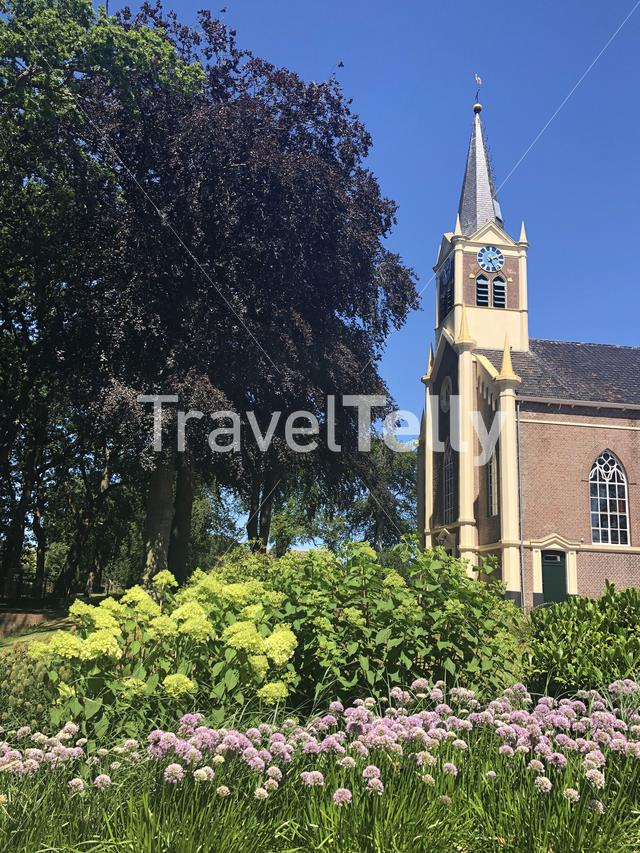 Church in Eastermar, Friesland, The Netherlands