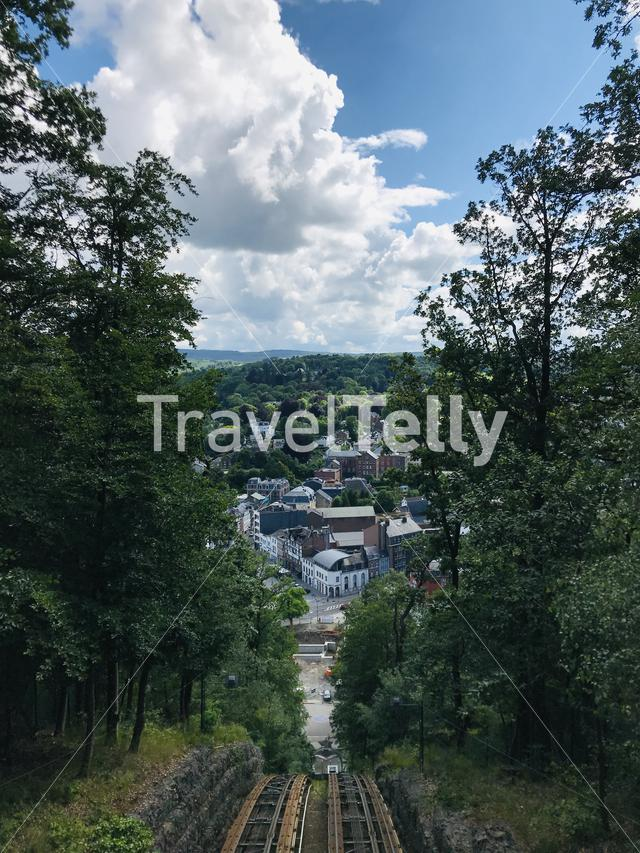 View over Spa, Ardennes