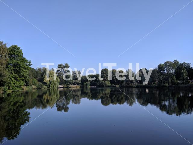 Lake in Holten, The Netherlands