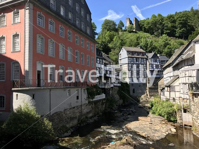 Monumental house: das Rotes Haus in Monschau Germany