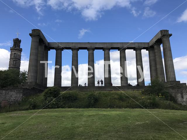 National Monument of Scotland in Edinburgh Scotland