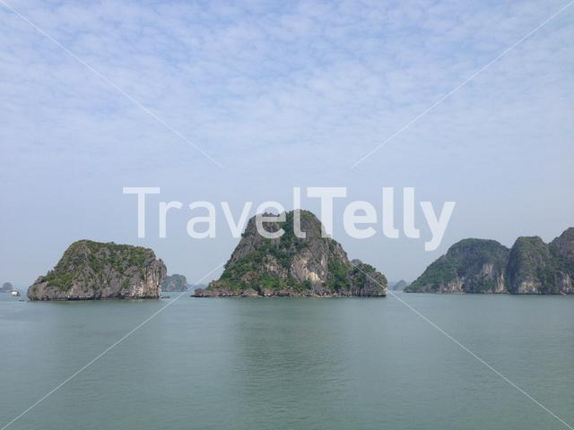 Landscape of Ha Long Bay in Vietnam