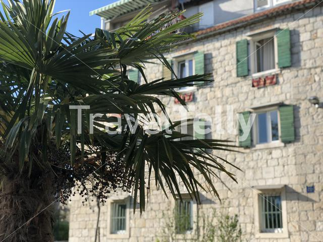 Appartment building in the old town of Split, Croatia