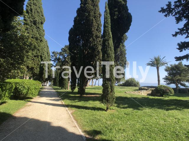Memorial Park Sustipan in Split Croatia