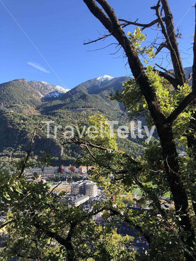 Mountains around Andorra la Vella