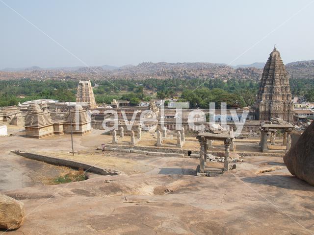 Ruins in Hampi india