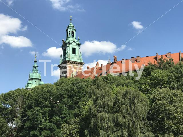 Wawel Royal Castle in Krakow Poland