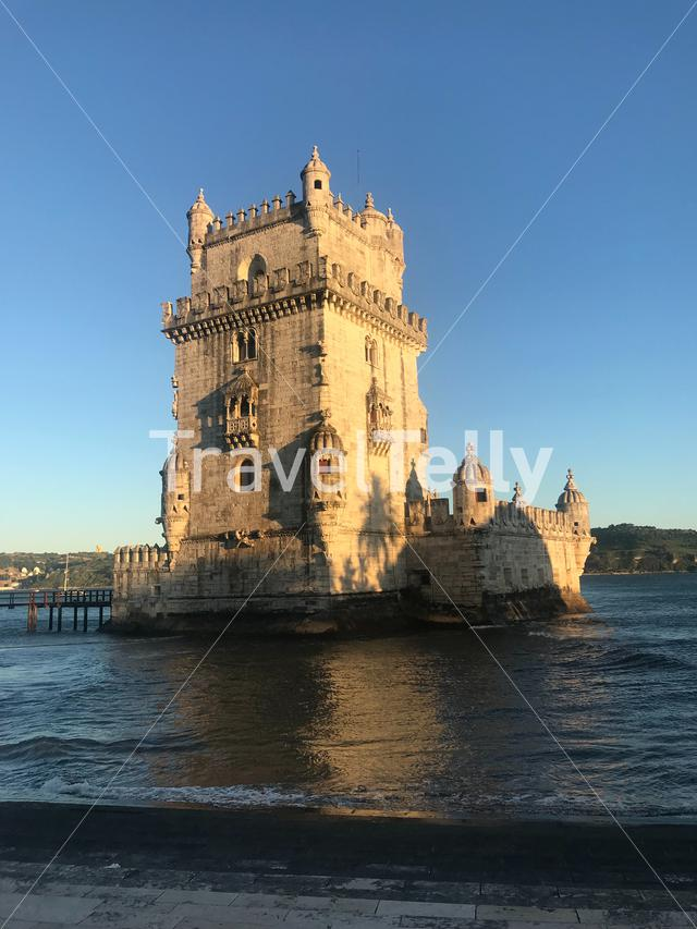 Tower of Belém in Lisbon, Portugal