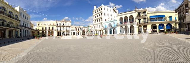 Panorama from the Old Town Square in Havana Cuba