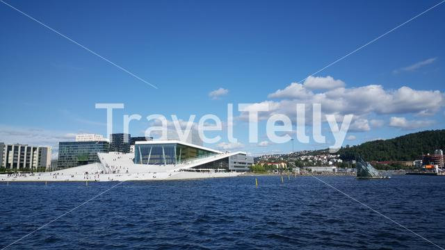 The Oslo Opera House in Norway